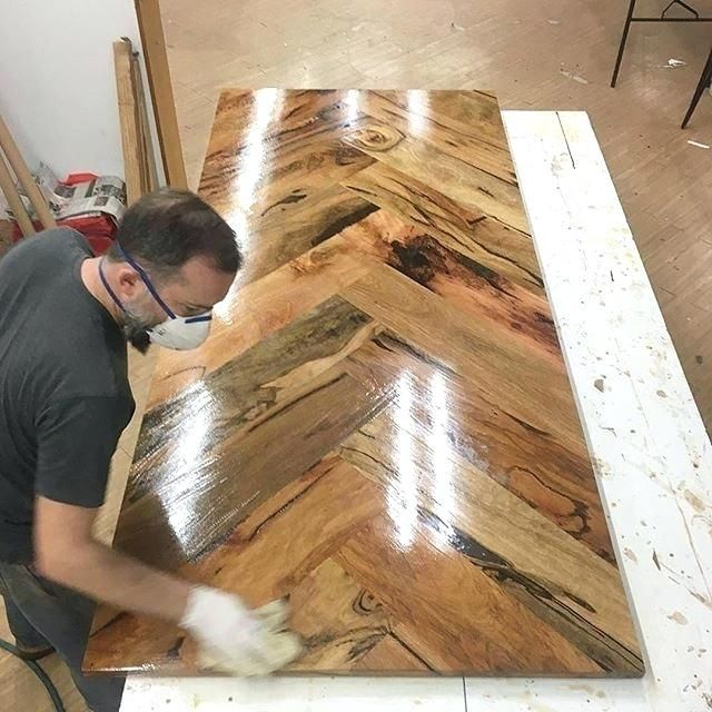 Build Wood Table Top How Sick Is This Herringbone Style Table Top