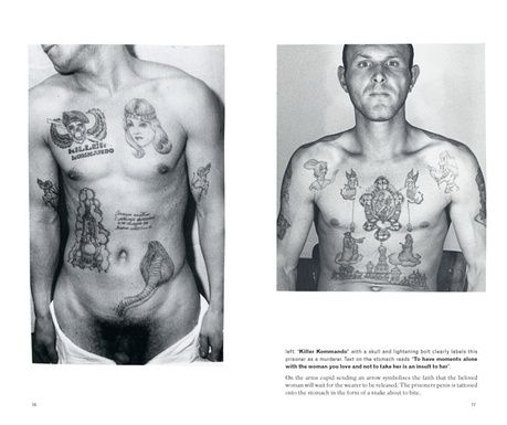 Russian Criminal Tattoo Police Files - 10