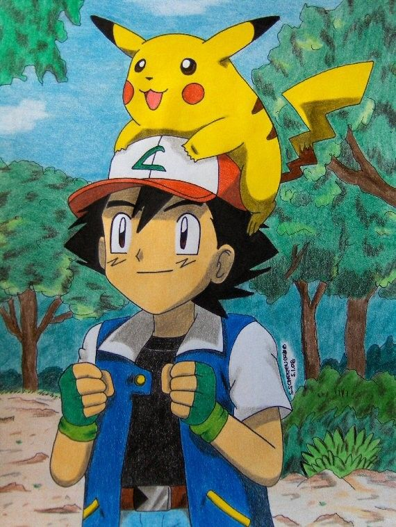 54 Best Images About Ash And Pikachu On Pinterest