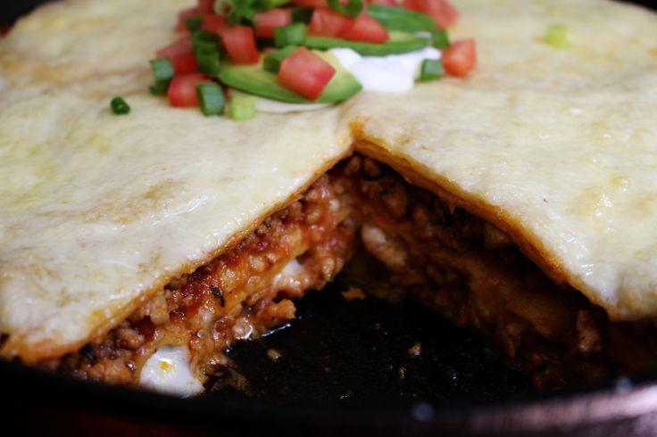 Jake Smollett's Chicken Taco Lasagna