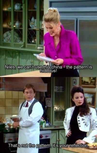 "C.C. never got a break from his verbal shenanigans. | 10 Times Niles From ""The Nanny"" Threw The Best Shade"