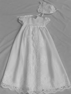 baptismal gown made out of my wedding dress