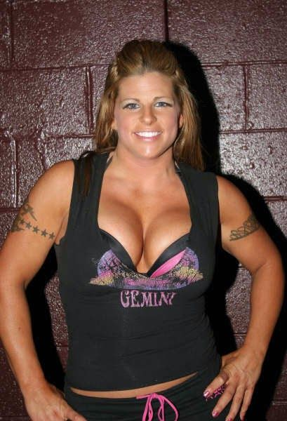 Hot Muscle Women Odb - Very Strong Female Wrestler-5932
