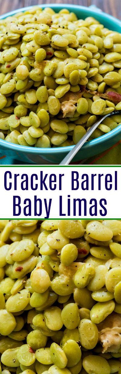 Cracker Barrel Baby Limas #limabeans #copycat