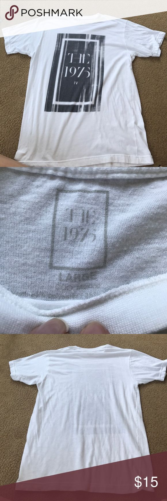 The 1975 Concert Merch Concert merch from a while ago. Worn only once so zero wear or tear. Its a really soft t shirt! The 1975 Tops Tees - Short Sleeve