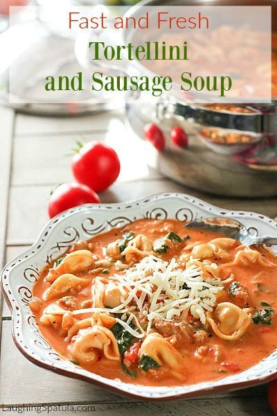 Super Fast Soup that packs a great punch of flavor!  30 minutes to fabulous soup!  Yay!