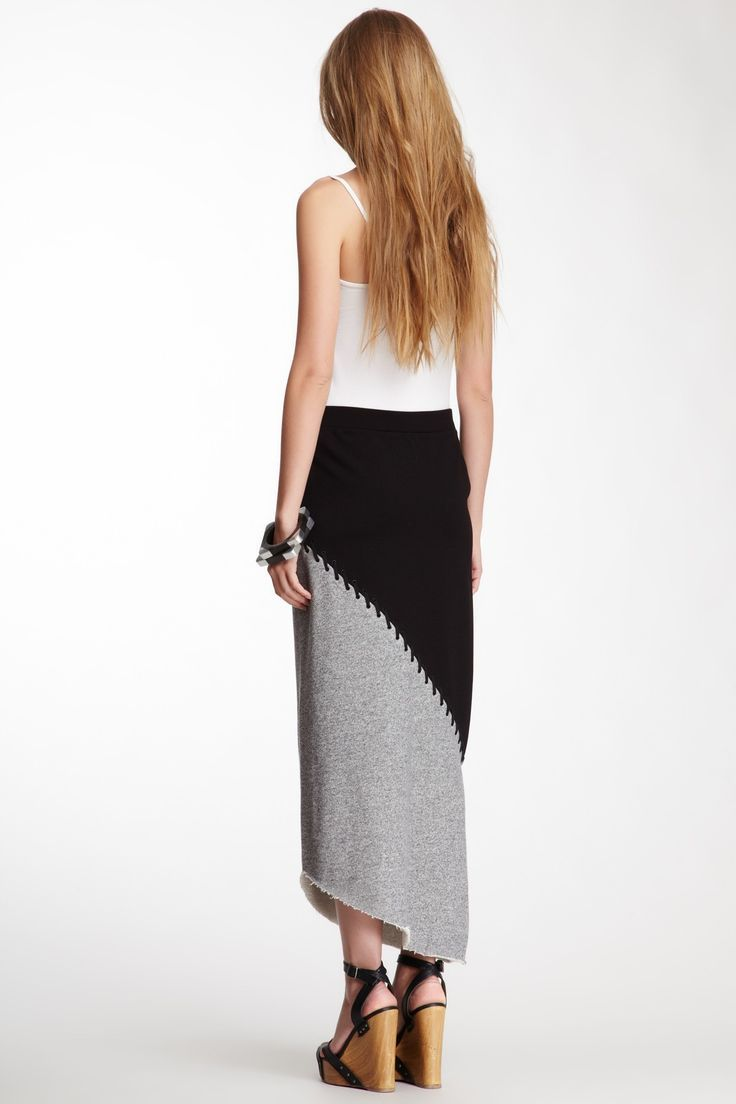 Black & Grey Skirt.