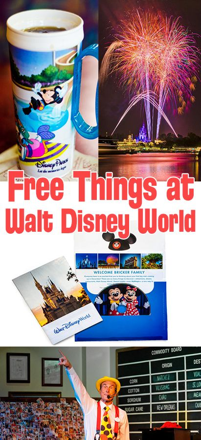 There's a lot of free things to do at Walt Disney World. No money, and no strings. I know this might come as a surprise since sometimes it feels like Micke