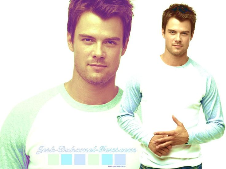 """Josh Duhamel- its just icing on the cake that he's 6'4"""""""