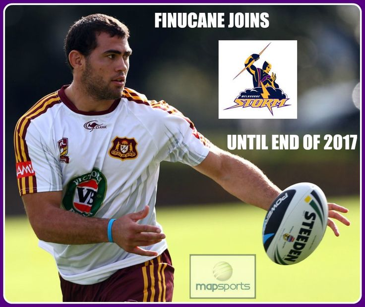 Finucane talks Storm, Dogs and future:  With high profile Bulldogs Dale Finucane confirming his switch to the Melbourne Storm, we took some time to sit down and get his position on the move. Read the full interview here: http://www.mapsports.com.au/news/85-finucane-talks-storm-dogs-and-future.html