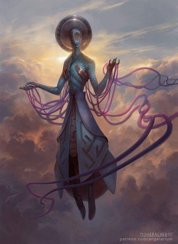 Zachriel - Angel of Memory.  Posible Boss final primer arco junto a otros semejantes.