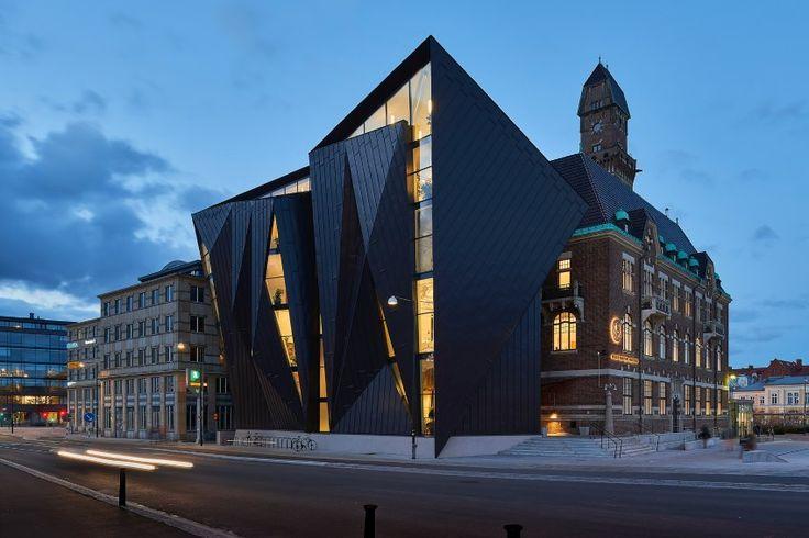 Das Maritime Museum in Malmö, Schweden, wurde vom Architekturbüro Terroir & Kim...