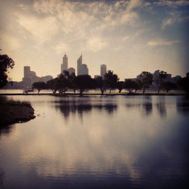 City across the pond. #perth #instagram #instacanvas