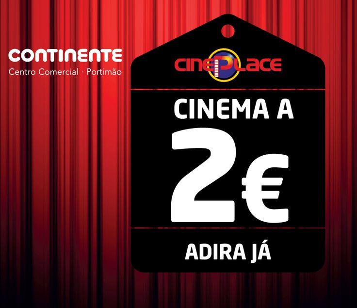 Cinema a 2€ no CC Continente de Portimão