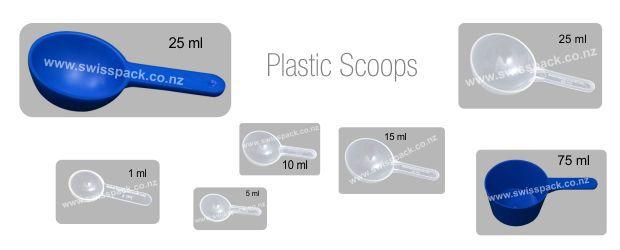 Plastic Scoops. Visit http://www.swisspack.co.nz/plastic-scoops/