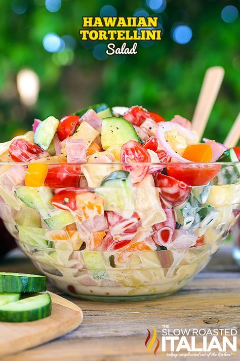 Hawaiian Tortellini Salad Recipe