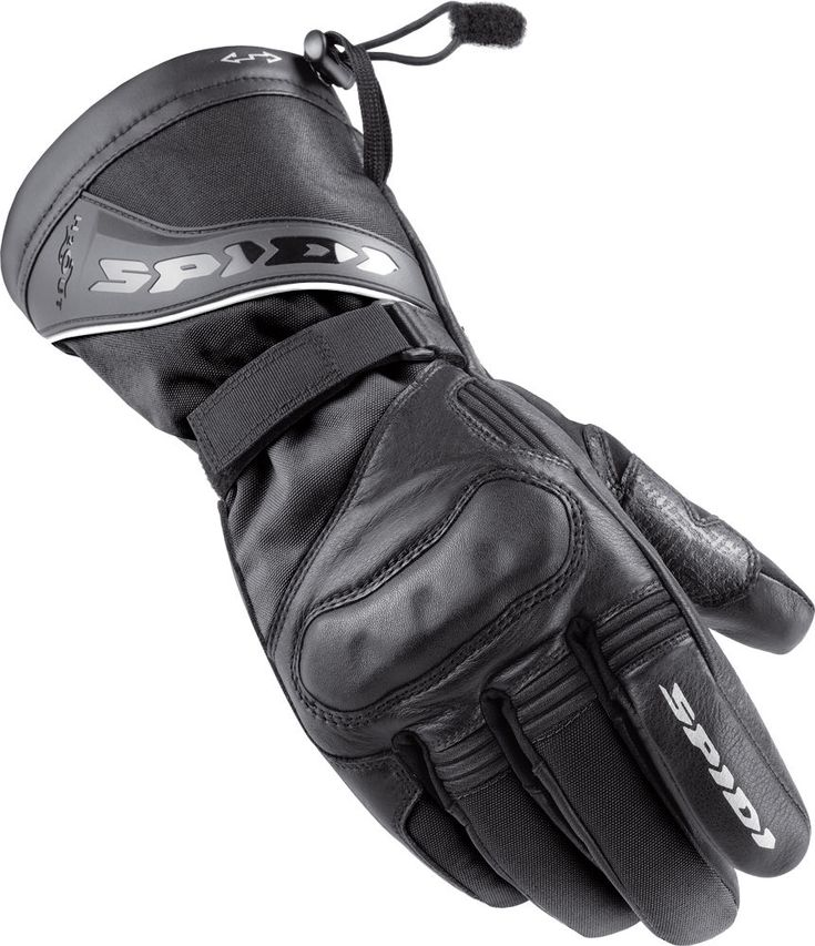 Spidi NK3 H2Out Leather Gloves Black M