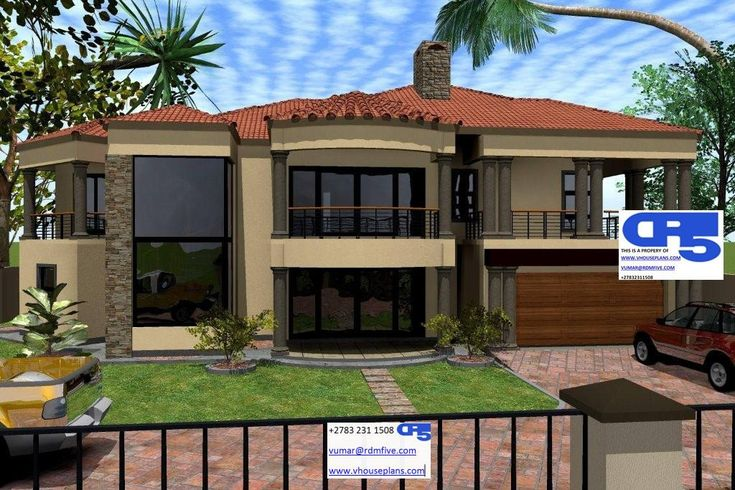 A Aaahouse Plan No W1890 Double Story House In 2019