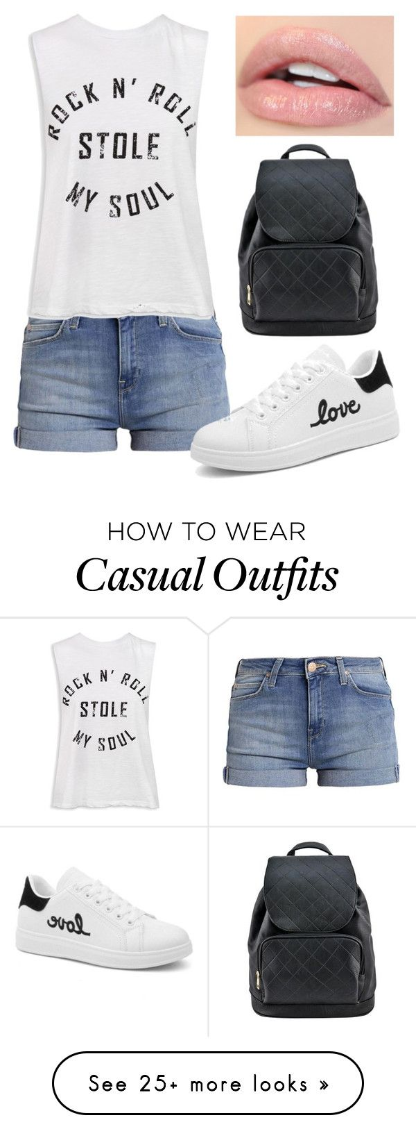 """Casual Look"" by ereizu22 on Polyvore featuring Sans Souci"