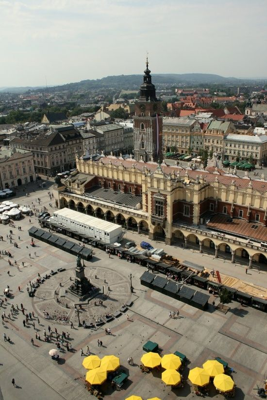 Krakow, Poland. Amazing, well worth a visit!