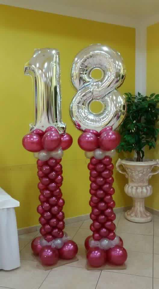 176 Best Images About Mega Number Foil Balloon On
