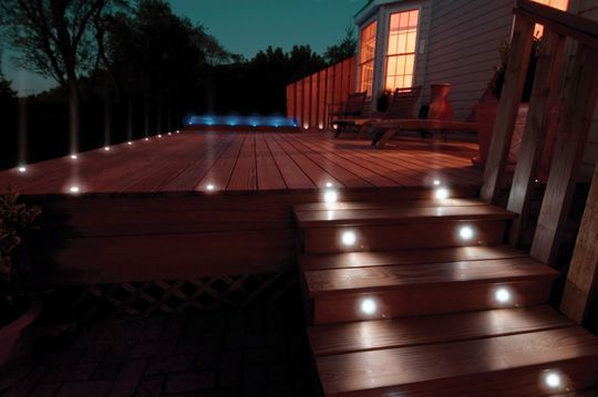 Add A Little Light To Every Step You Take Eclairage Exterieur
