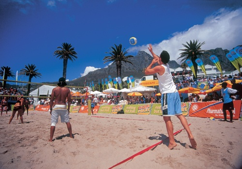 Volley ball - camps bay