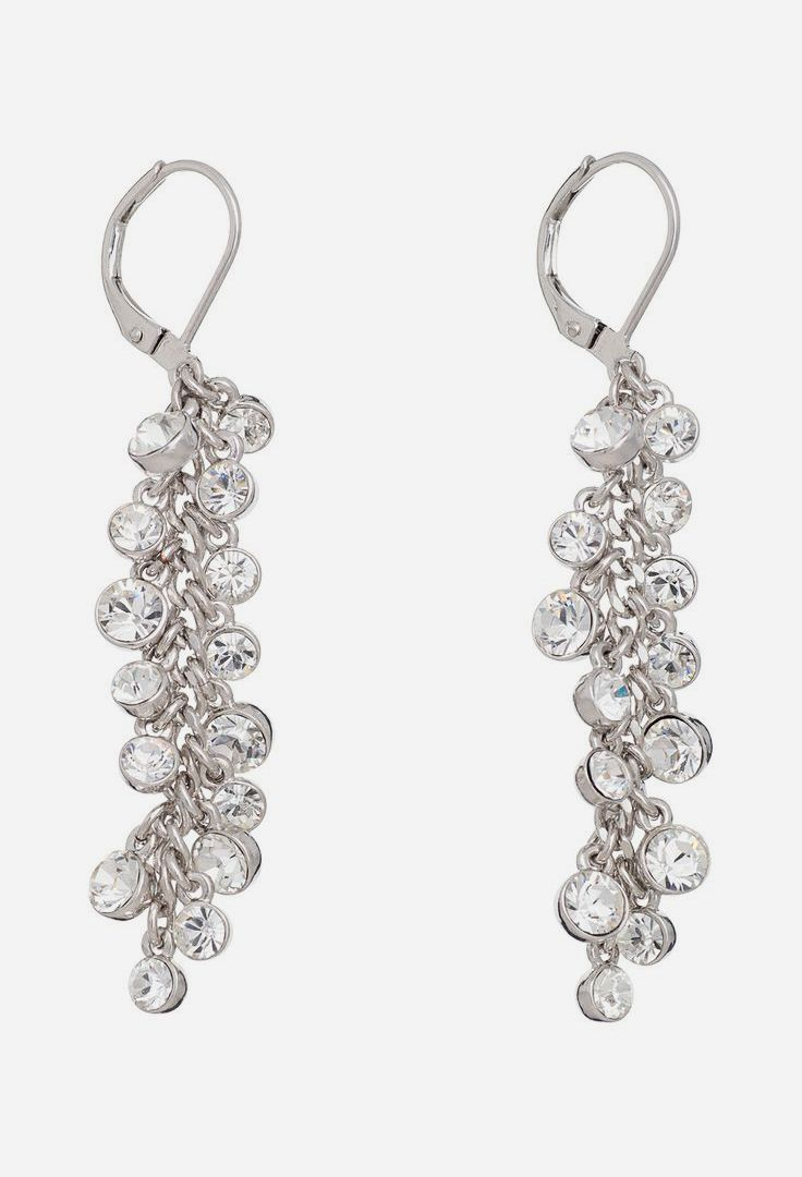 Clear Royalty Earrings Made With SWAROVSKI ELEMENTS.  If I could just find these but with diamonds.