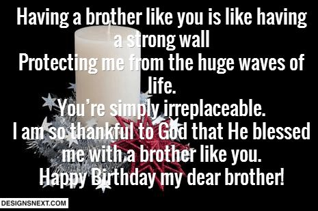 Birthday wishes for brother 7