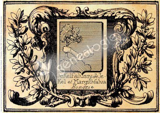 armoirie Jekelfalussy de Jekel et Margithfalva
