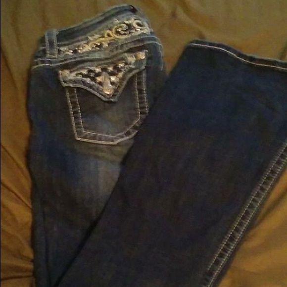Miss Mes Miss Mes perfect condition. I just don't like the way they fit on me. Miss Me Jeans Boot Cut