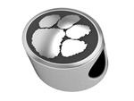Order Now to be ready for game day!  Silver College Beads: Silver Colleges, Colleges Beads