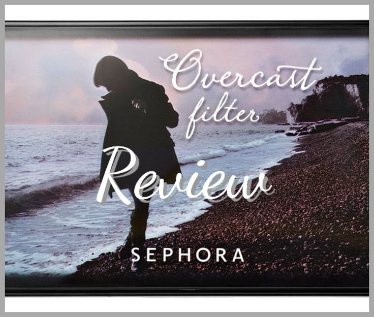 Sephora Overcast Filter Palette Review