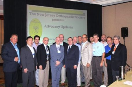 Our physicians attending the New Jersey Orthopedic Society's 39th Annual Symposium!