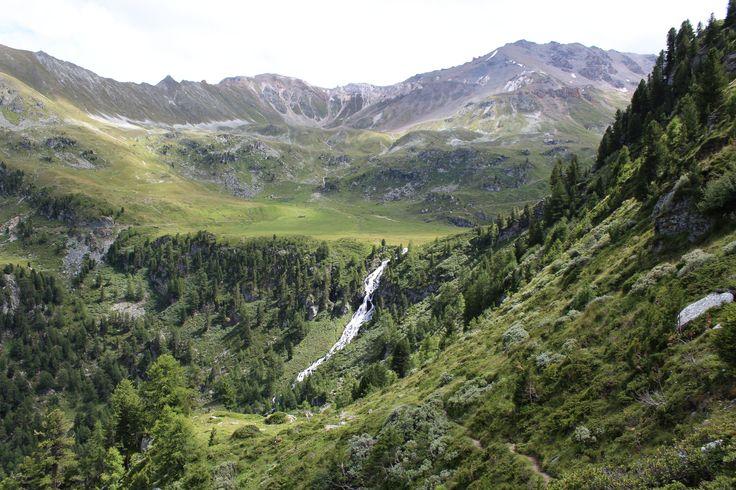 L'Ar du Tsan et la cascade