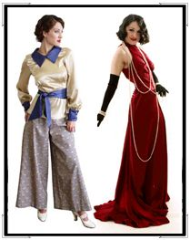 reVamp Vintage Clothing: 1910 fashions, 1920s clothing, vintage clothing 1930, 1940s vintage, 1950 F: Women