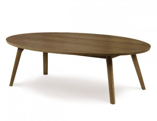 Catalina Walnut Oval Coffee Table By Vermont Woods Studios Solid Walnut 855