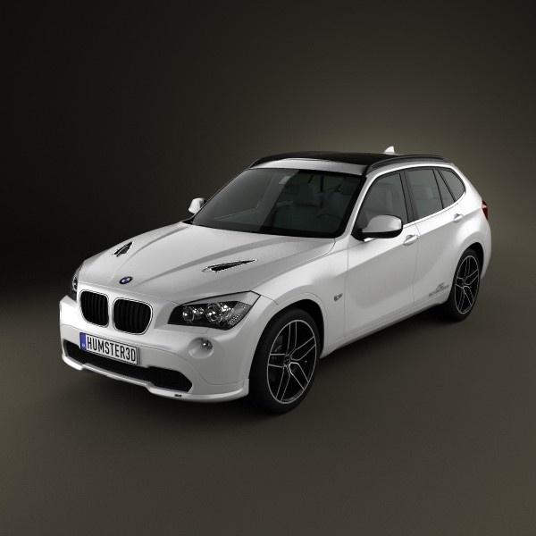 BMW X1 2010 AC Schnitzer 3D model
