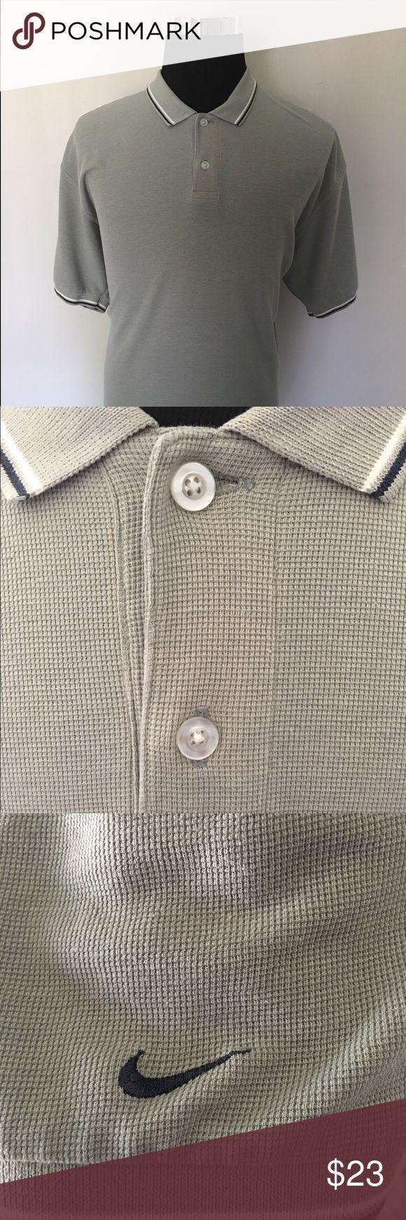 Nike Golf Men's Polo Good Condition - Size XL - Nike Logo On The Left Sleeve - Color: Gray Nike Shirts Polos
