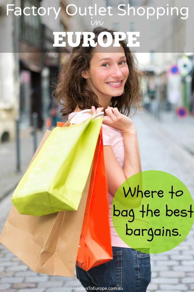 Factory outlet shopping in Europe / Where to shop to get the best bargains on designer labels.