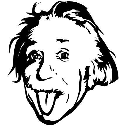 Estampa para camiseta Albert Einstein 001270