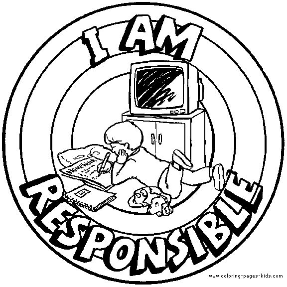 I am responsible Morale Lesson