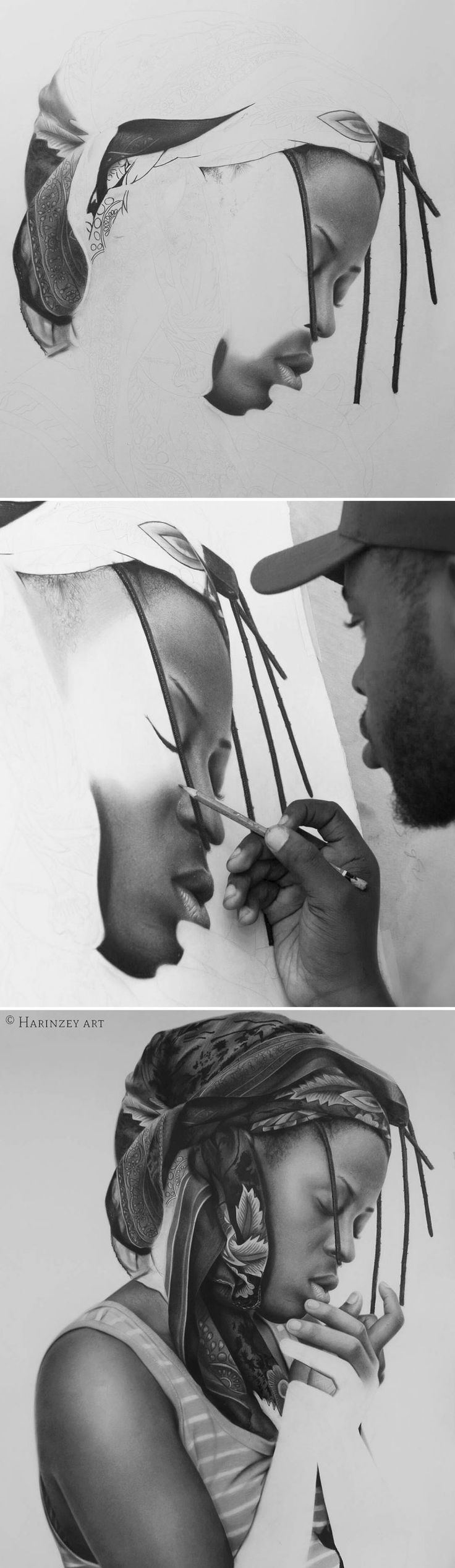 Best PENCIL GRAPHITE CHARCOAL ART Images On Pinterest - Nobody can believe this japanese artists pencil drawings arent photographs