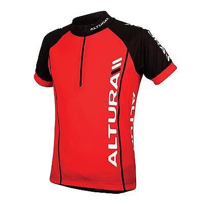 Altura team kids #short sleeve road/mtb #bike/cycling #jersey/top - red - age 7-9,  View more on the LINK: 	http://www.zeppy.io/product/gb/2/321968090834/