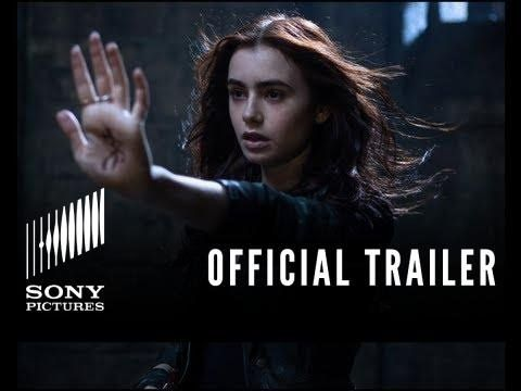 THE MORTAL INSTRUMENTS: CITY OF BONES   Official Trailer [.Based on the Best-Selling YA series by Cassandra Clare. Clary's life is turned upside down when her mother is kidnapped and it's revealed that she and her mother are actually shadowhunters - billed with protecting the world from downworlders such as vampires, werewolves and demons. Clary must discover her talents and save her mother.] ..   Fantasy .. Cast: Lily Collins, Jared Harris, Robert Sheehan   .'200'.+Playlist.