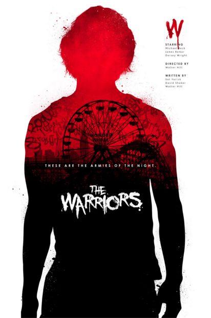 The Warriors (1979) ~ Minimal Movie Poster by Joseph Harrold #amusementphile