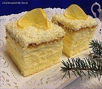 ciasto z kremem cytrynowym