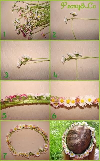 ... en Pinterest | Guirnaldas de flores para niña, Tiaras y Flores de