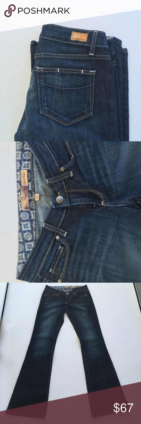 Paige Premium denim -Laurel Canyon style Sz 27 A low rise boot cut that is slim through the hips and thighs while maintaining a classic boot cut shape. Condition: excellent PAIGE Jeans Boot Cut