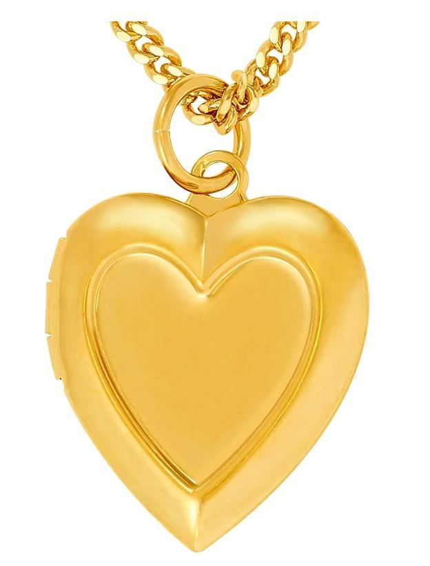 GoldenMine Fine Jewelry Collection 14k Yellow Gold Religious Virgin Mary Medal